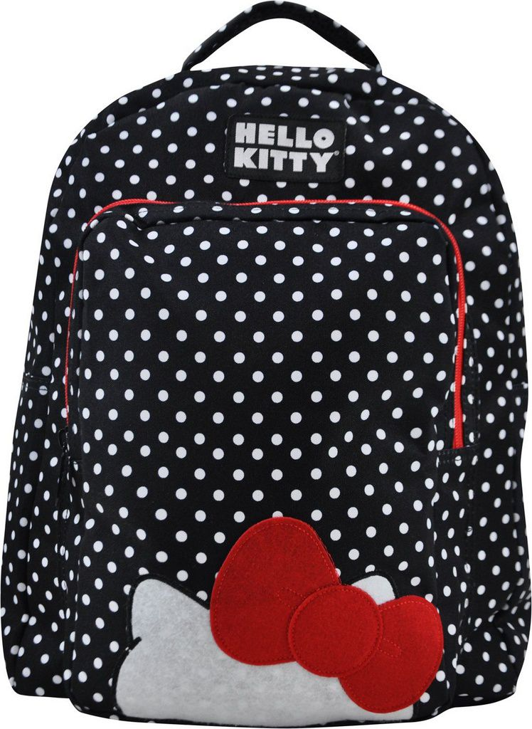 Mochila Infantil de Costas Hello Kitty com Estojo