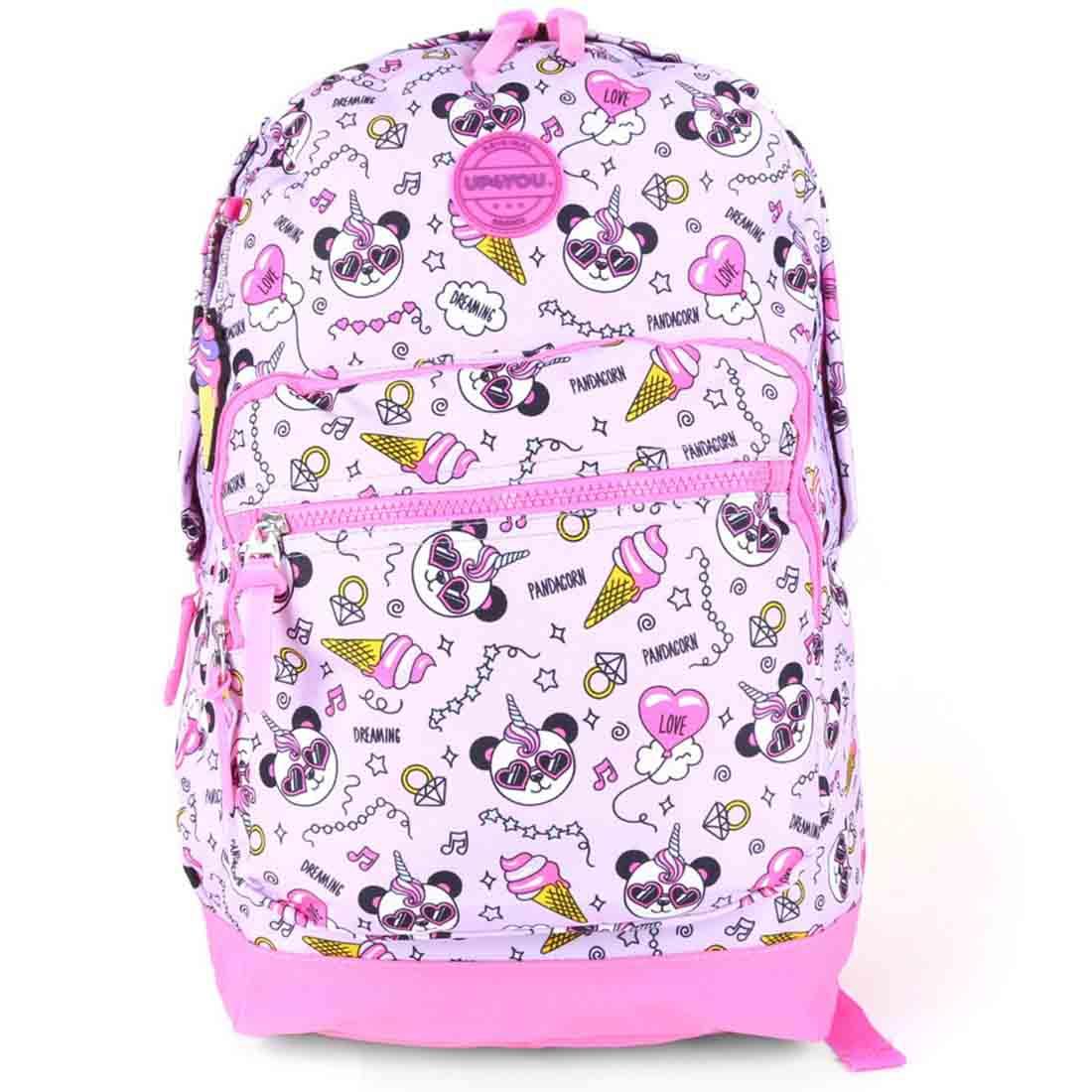 Mochila Infantil Escolar Panda Up4You MS45993UP