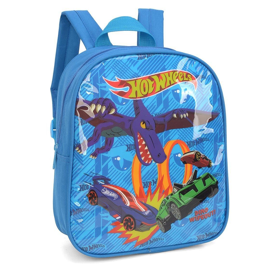 Mochila Infantil Hot Wheels Azul IS33835HW