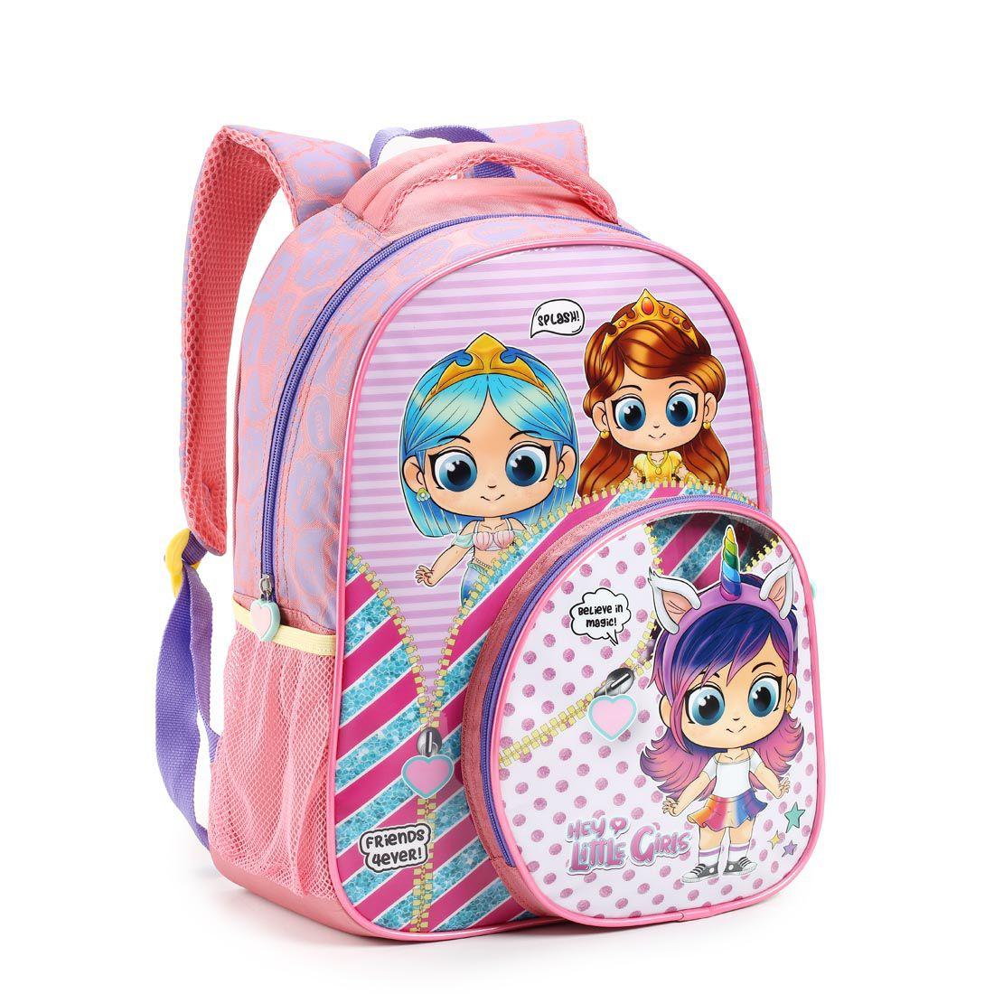 Mochila Infantil Hey Little Girls
