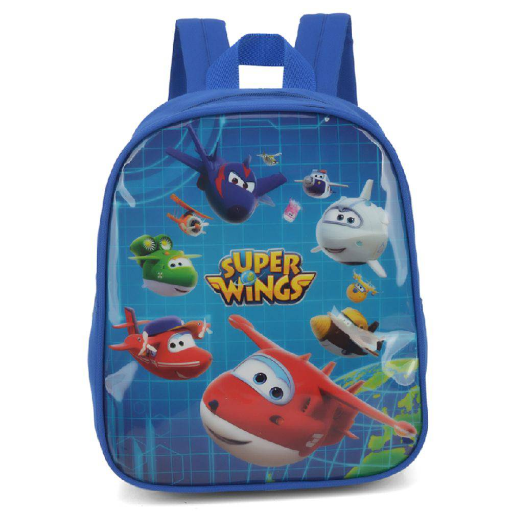 Mochila Infantil Super Wings Azul IS32606SW