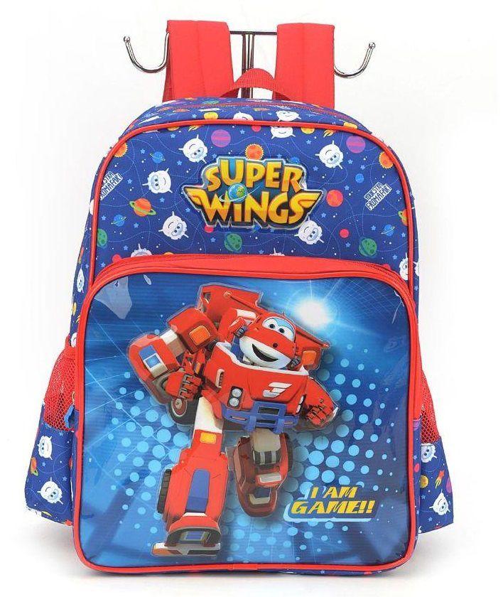 Mochila Infantil Super Wings Azul IS32691SW