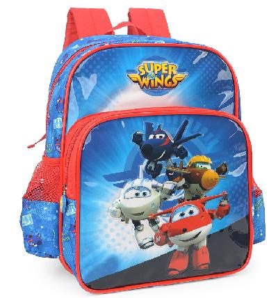 Mochila Infantil Super Wings Azul IS32695SW
