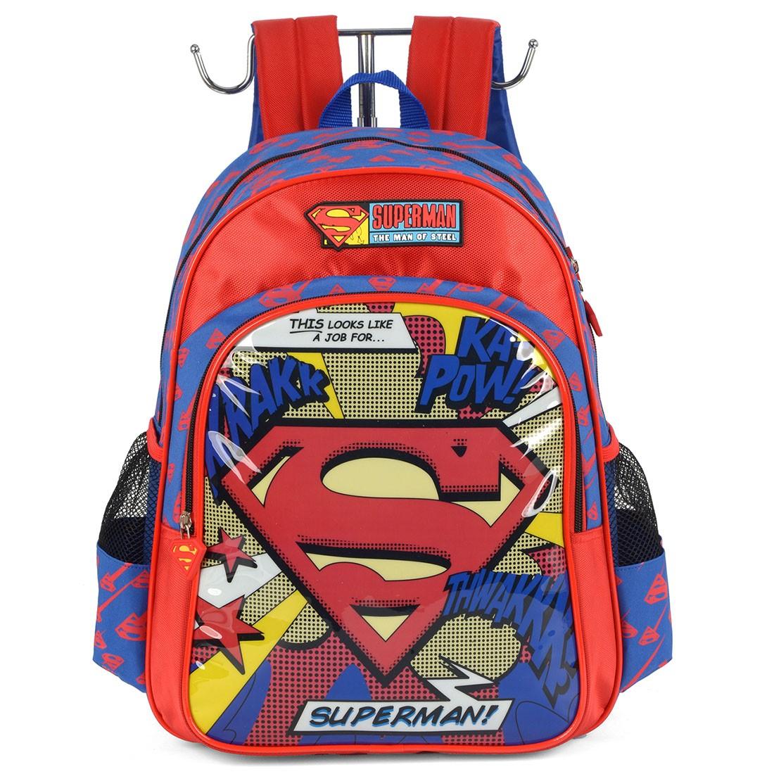 Mochila Infantil Superman IS35661SM-VM