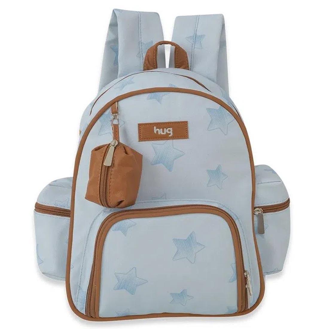 Mochila Maternidade Hug Céu Estrelado Azul