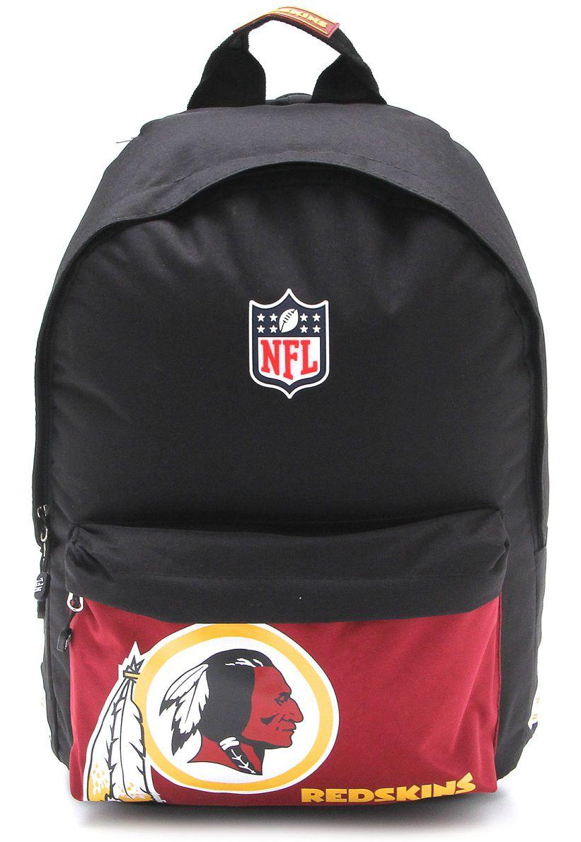 Mochila NFL Redskins de Costas Preta NFM1800100