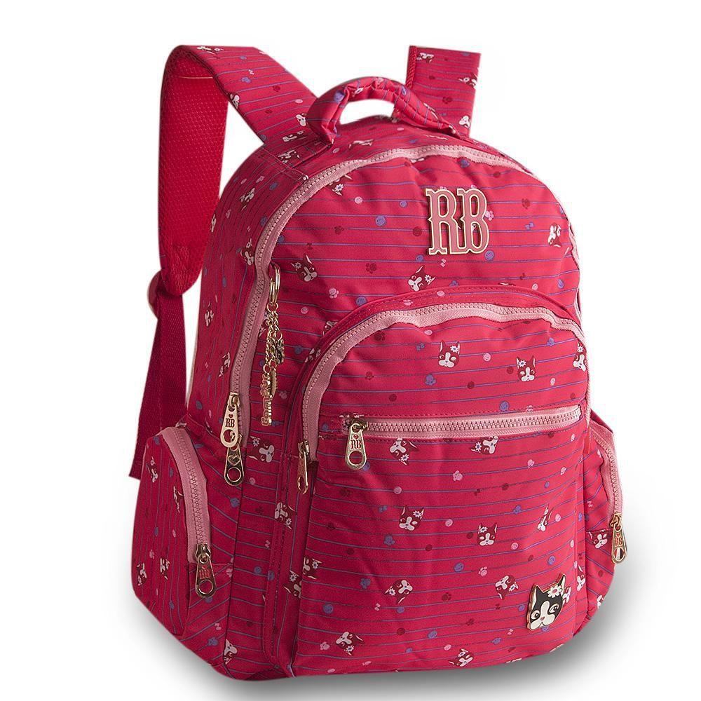 Mochila para Notebook Rebecca Bonbon Vermelha RB8195
