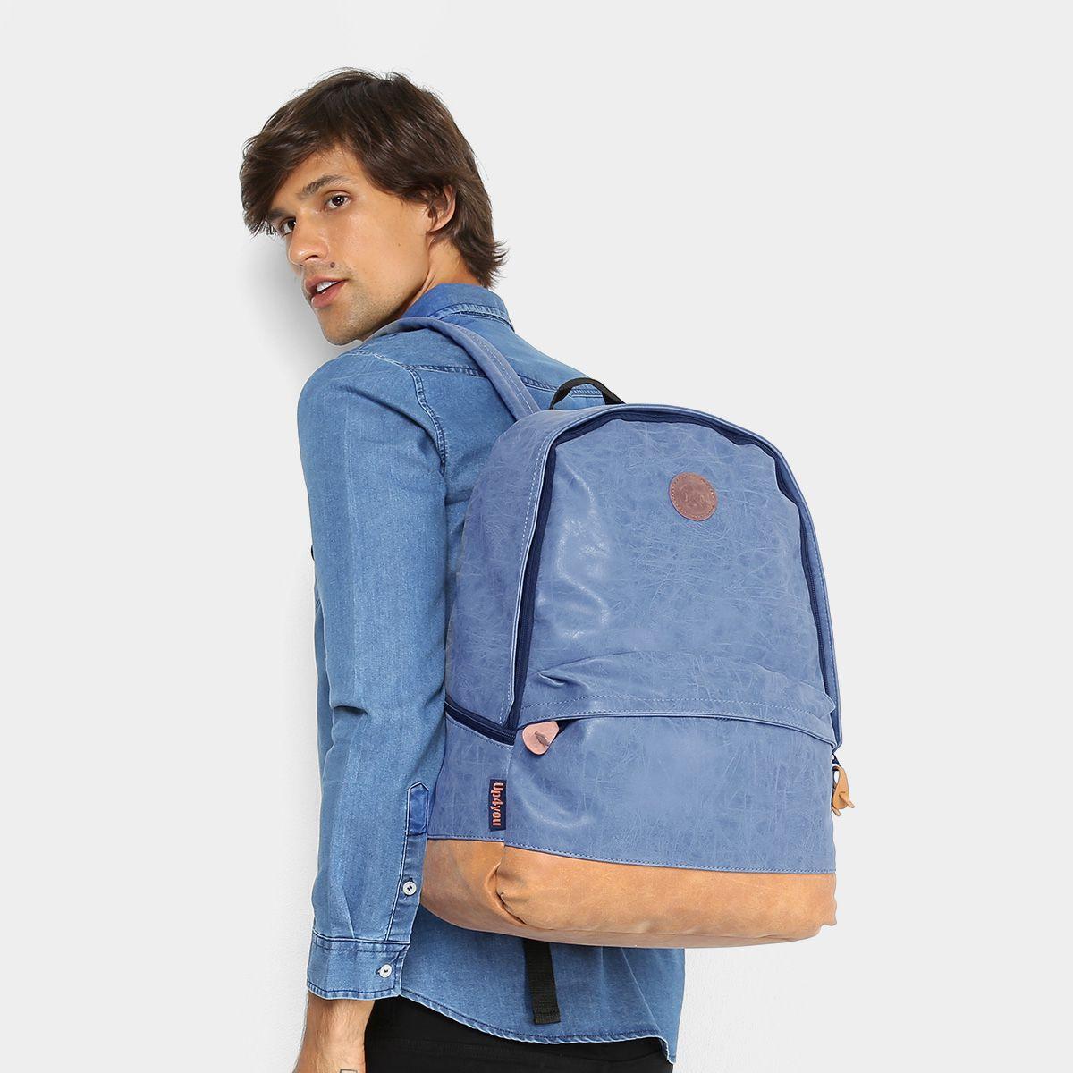 Mochila Para Notebook Up4you João Guilherme MJ48499UP Azul