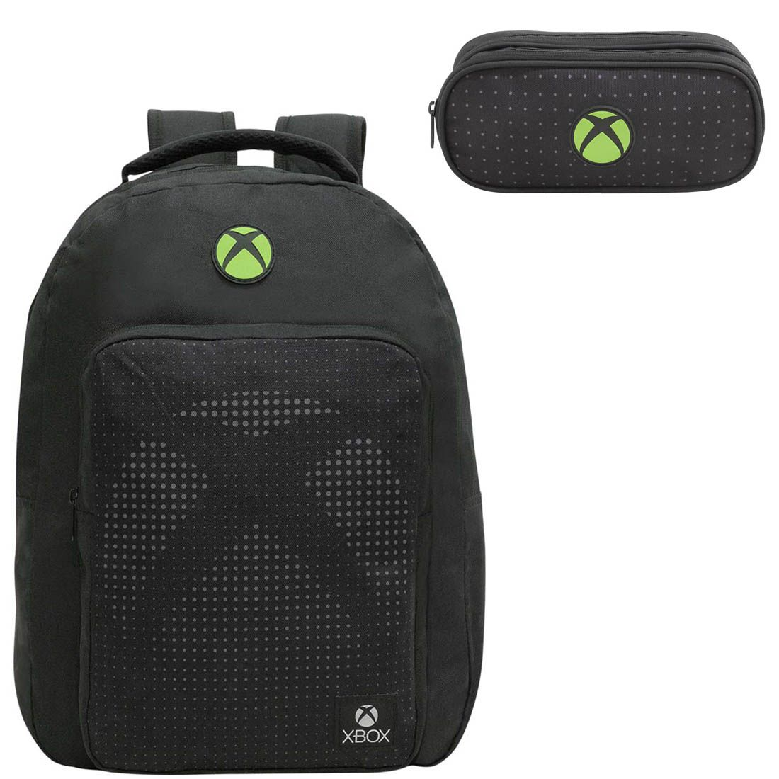 Mochila para Notebook Xbox com Estojo Preta