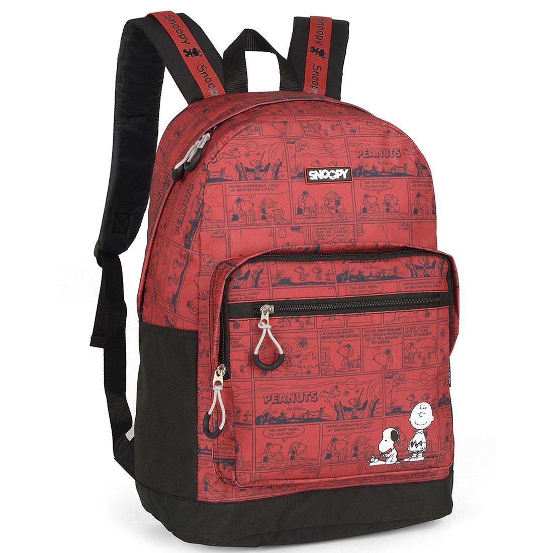 Mochila Snoopy Vermelha MS46011SN-VM