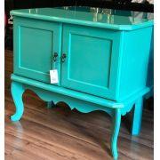 Buffet Colonial 2 azul turquesa