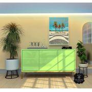 Buffet Urban 3 PT Laca Verde Pistache