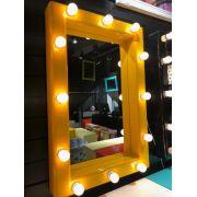 Espelho Camarim Amarelo