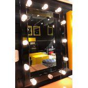 Espelho Camarim Preto