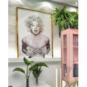 Quadro Marilyn Monroe  Moldura Laca Dourada (1,15 x 0,70)