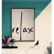 Quadro Led Relax G moldura preta (1,05 x 1,45)