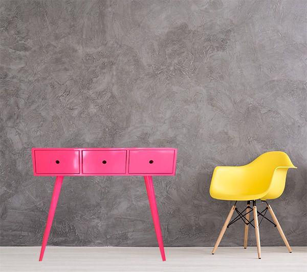 Aparador Pé Palito- 3 GV- Rosa Pink