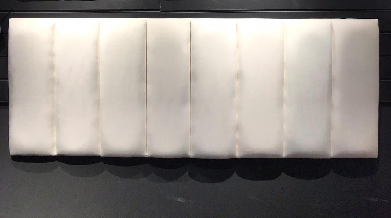 Cabeceira Casal- Modulada Branca