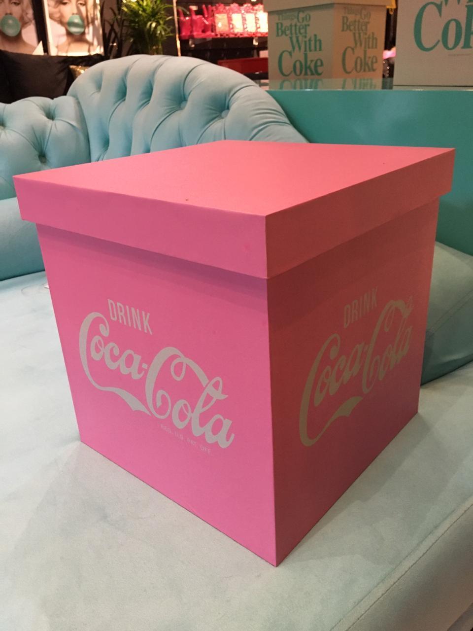 Caixa Organizadora Coca-Cola G