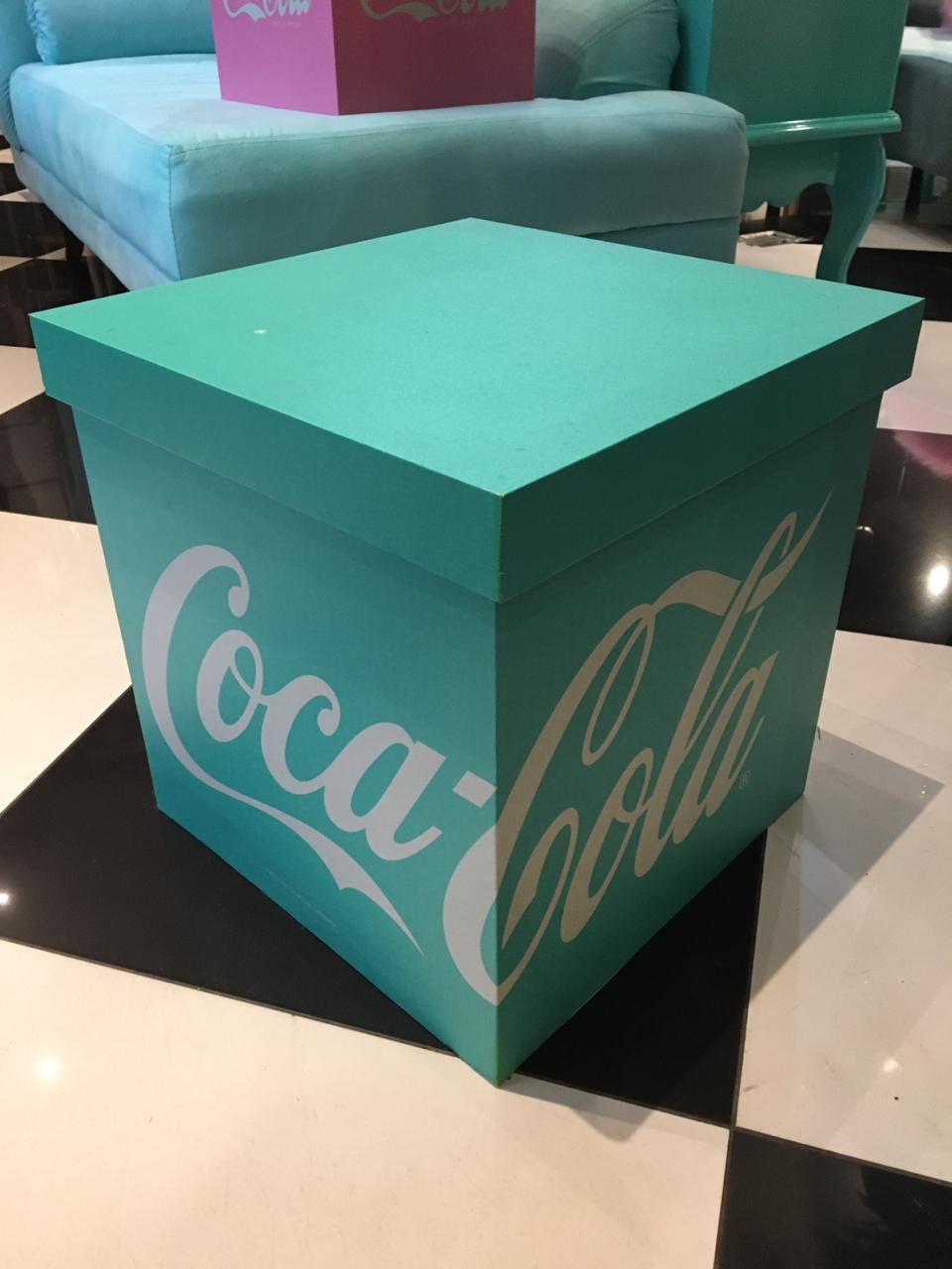 Caixa Organizadora Coca-Cola GG
