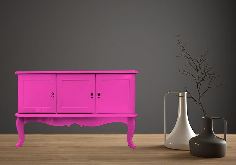 Buffet Colonial- 3 PT-  Rosa Pink