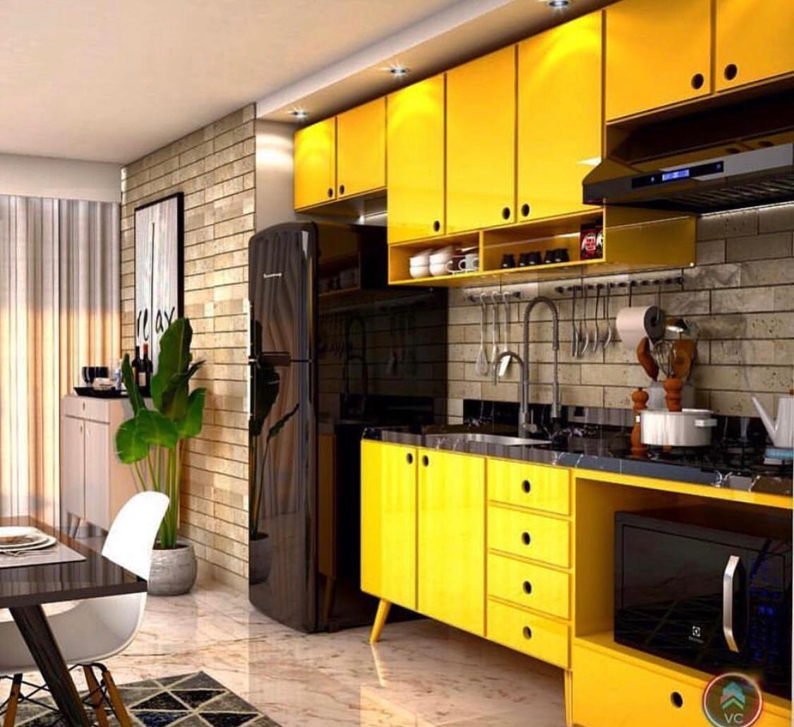 Cozinha em Laca!