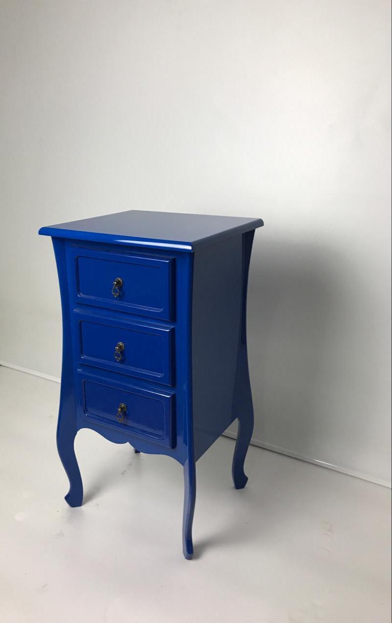 Criado Quadrado 3 GV-Azul Bic