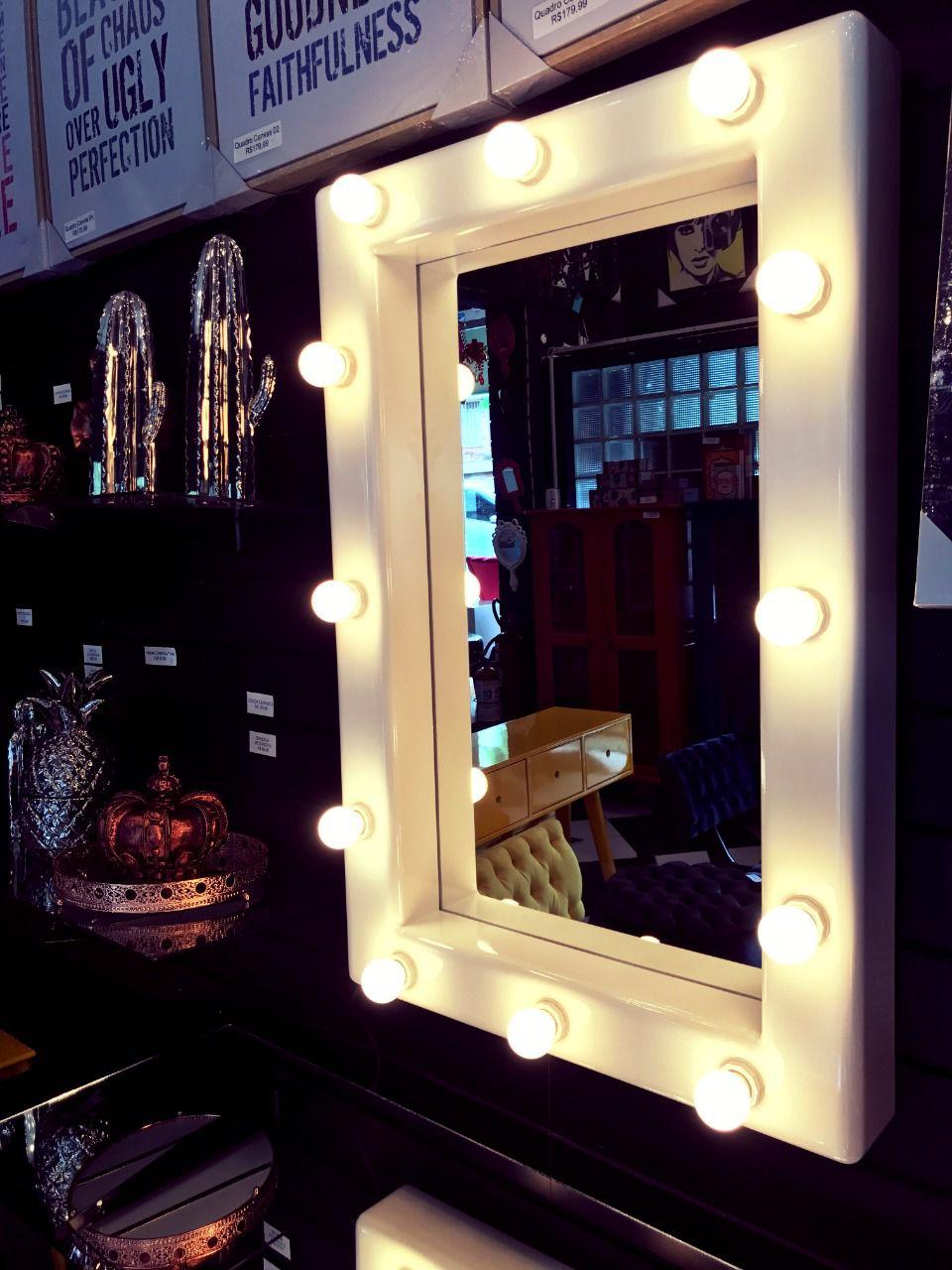 Espelho Camarim Branco