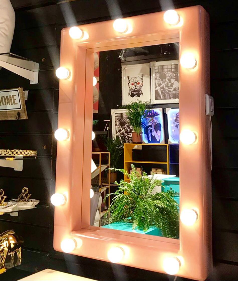 Espelho Camarim Rosé