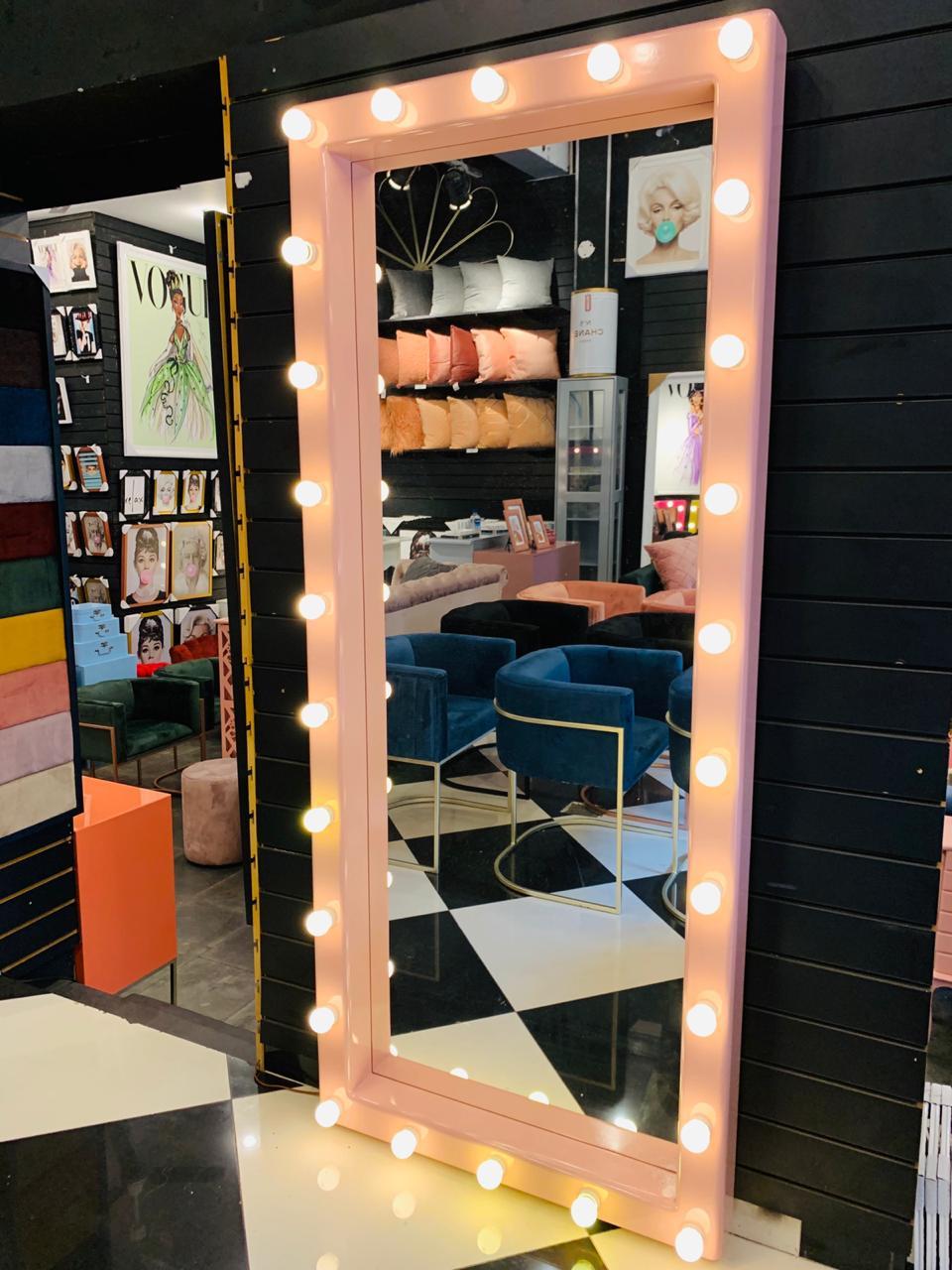 Espelho Camarim Rosé -GG