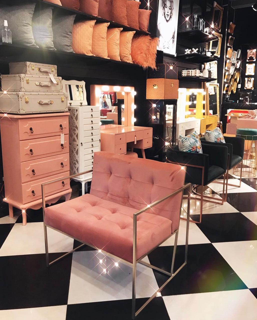 Poltrona Urban Confort- Rosa Queimado