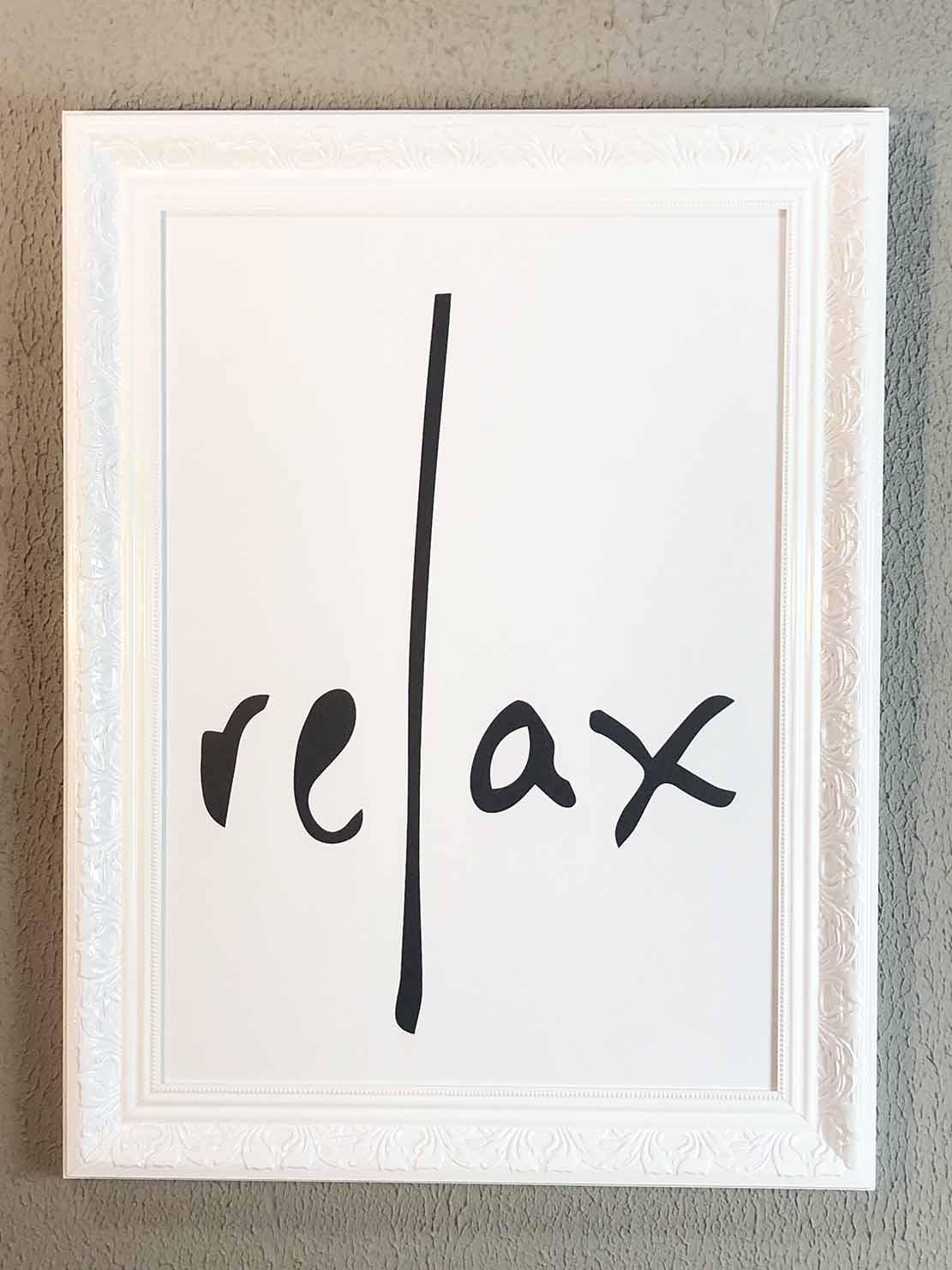 Quadro Relax Branco