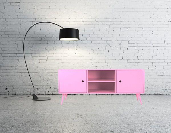 Rack Pé Palito- Rosé