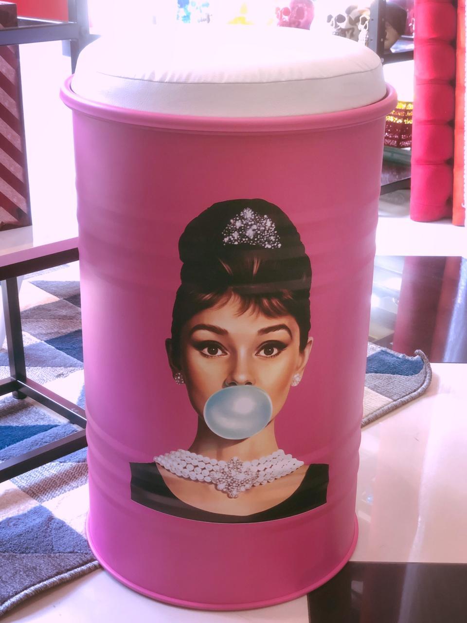 Tonel Banqueta Audrey Pink