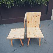 Cadeira Pinus Pé palito
