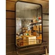 Espelho Prateleira