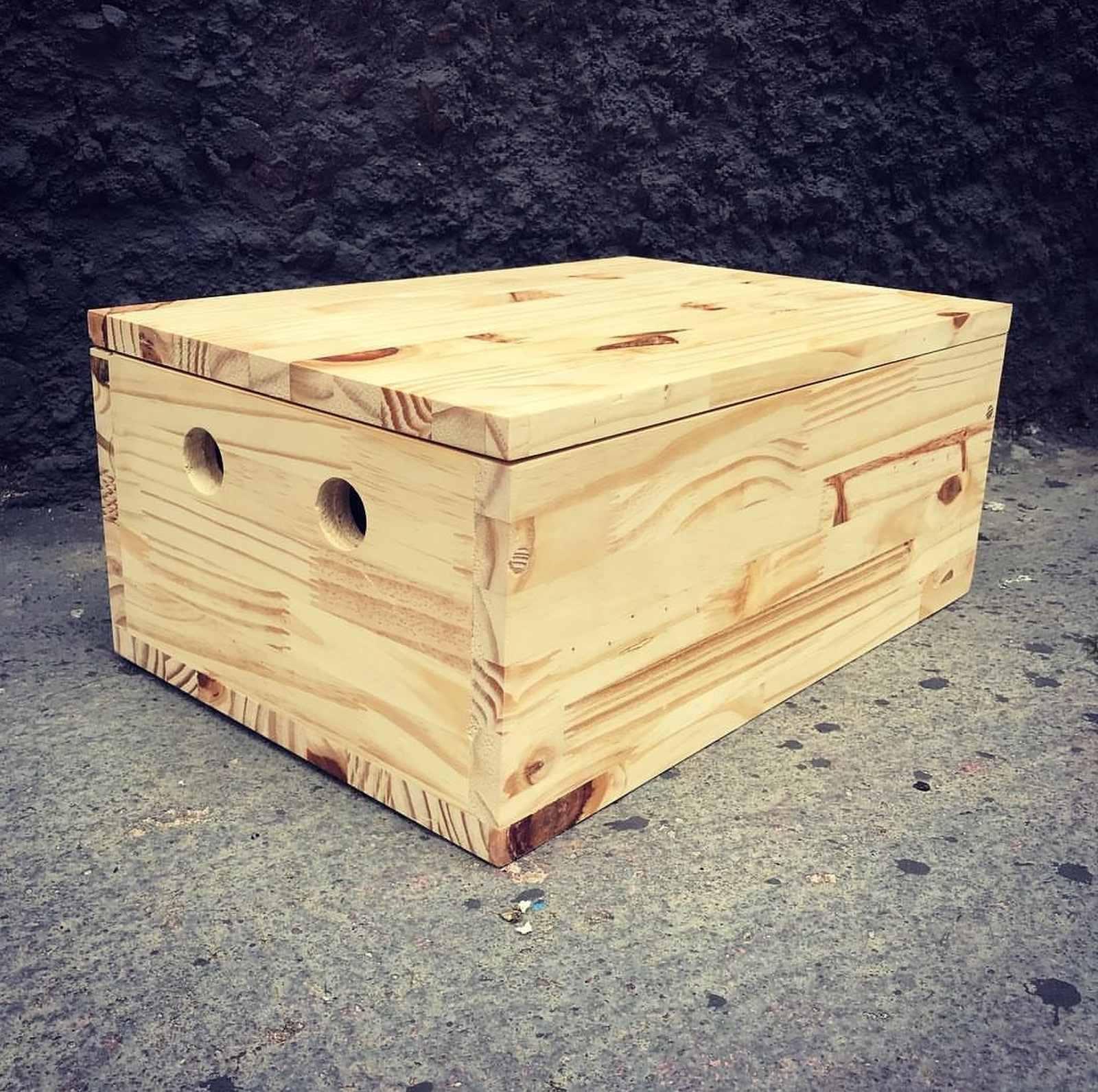 Caixa de Pinus
