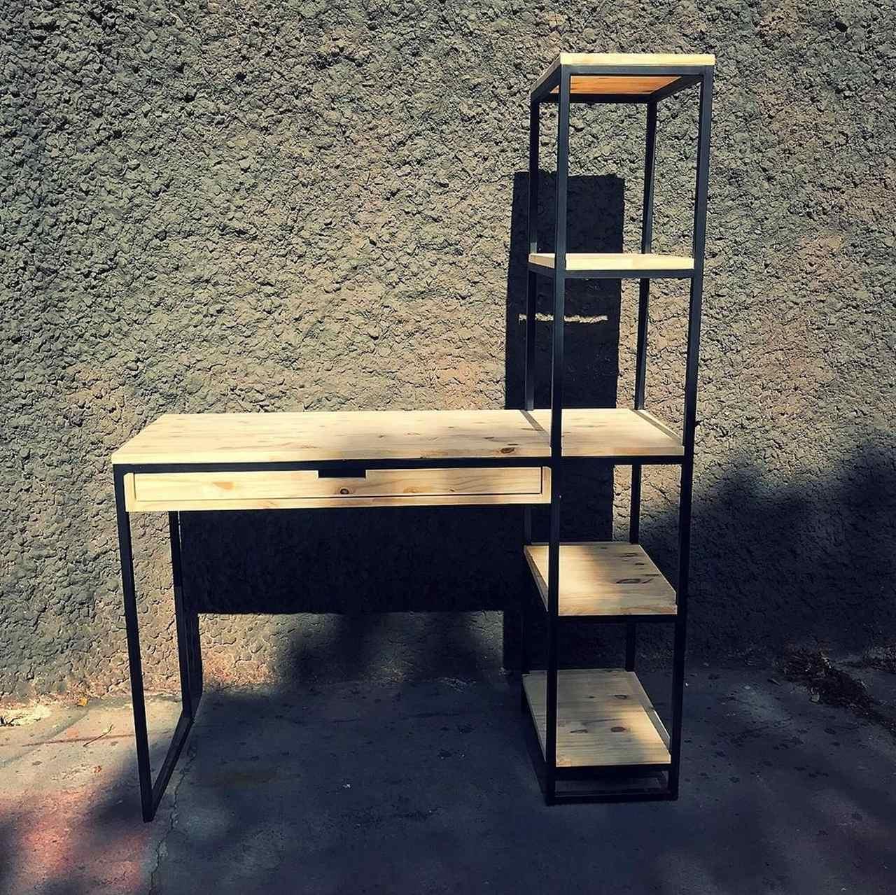 Escrivaninha Industrial - 4