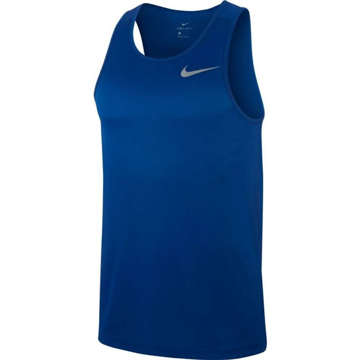Final suficiente Stratford on Avon  Camiseta Regata Nike Breathe Run Dri Fit Masculina - Azul - Loja Esporte  Saúde