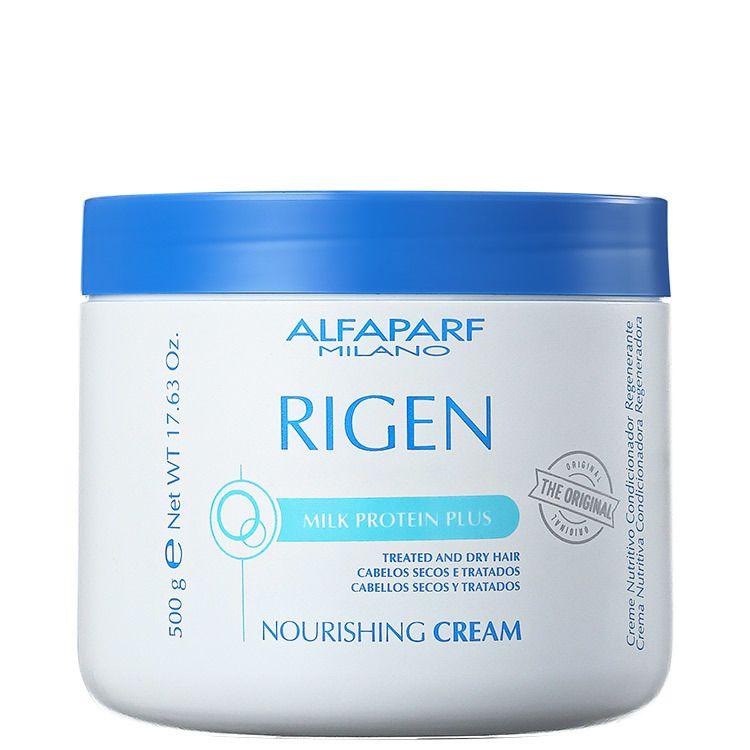 Alfaparf Rigen Milk Protein Plus Nourishing Cream  Máscara de Tratamento 500 g