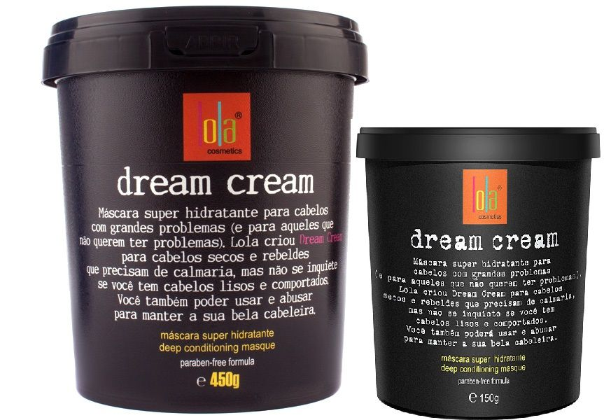 Lola Dream Cream Máscara 450 mg
