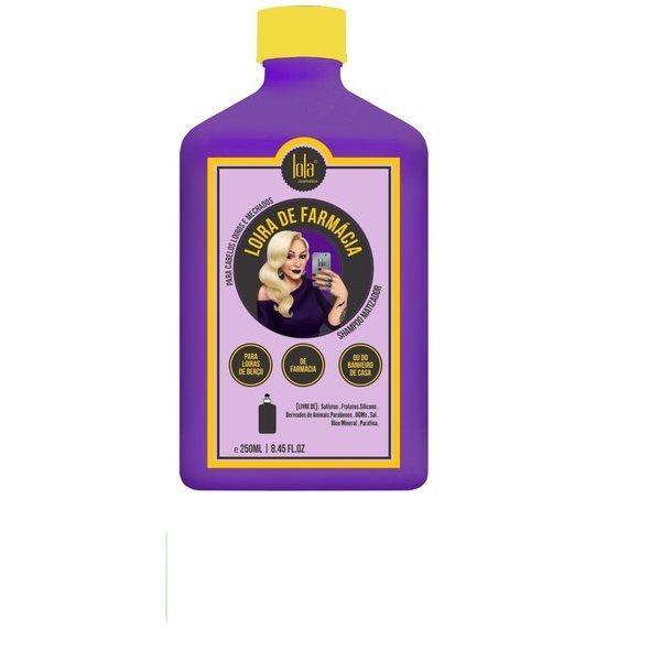 Lola Loira de Farmácia Shampoo Matizador 250 ml