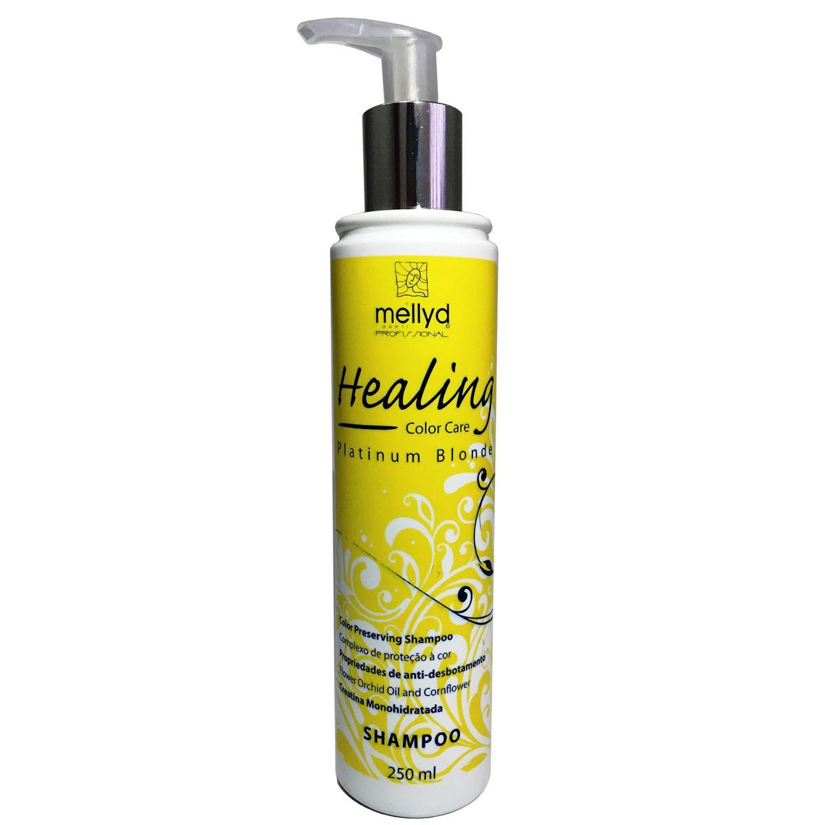 Mellyd Shampoo Healling Platinum Blonde  250 ml