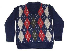 Blusa de Lã Infantil Balão Menino - Duwell