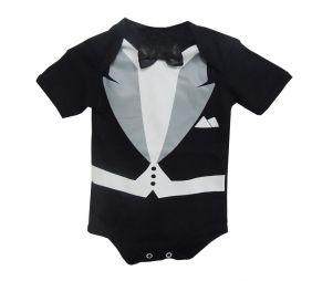 Body Bebê Menino Poderoso Chefinho M/C