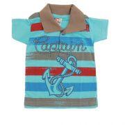 Camisa Infantil Menino Polo P. Passos