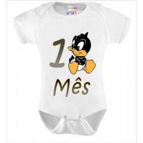 Kit 12 Bodys Mesversário Looney Tunes - Doremi Bebê
