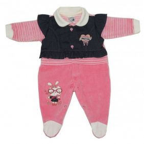 6ab756167ca91f Bebê Menina - Macacão para bebê