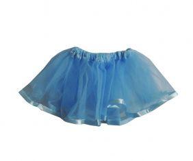Saia de Tutu Infantil Azul Claro