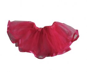 Saia de Tutu Infantil Pink